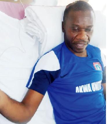 akwa ibom commissioner injured uyo church