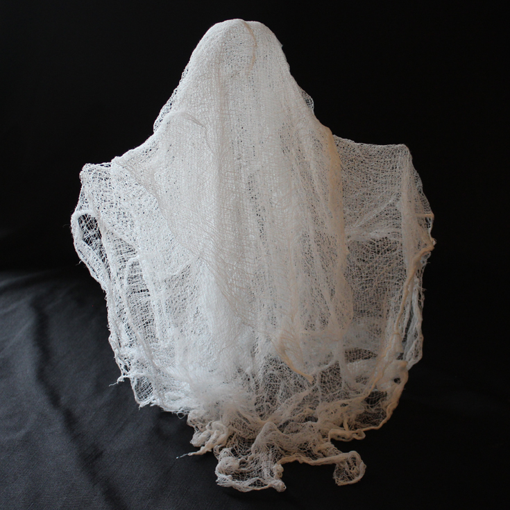 Doodlecraft Spooky Cheesecloth Ghosts