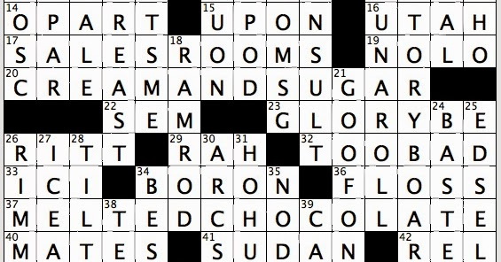 Rex Parker Does the NYT Crossword Puzzle: Dancers known ...
