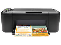 HP Deskjet F4580 All-in-One Printer Drivers Download
