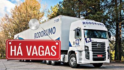 transportadora rodomundo vagas para motorista