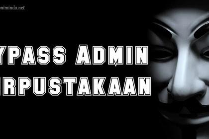 Bypass Admin Perpustakaan