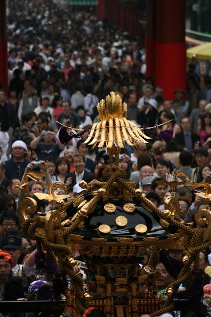 Bonden Matsuri at Shirahige Shrine, Sumidaku, Tokyo