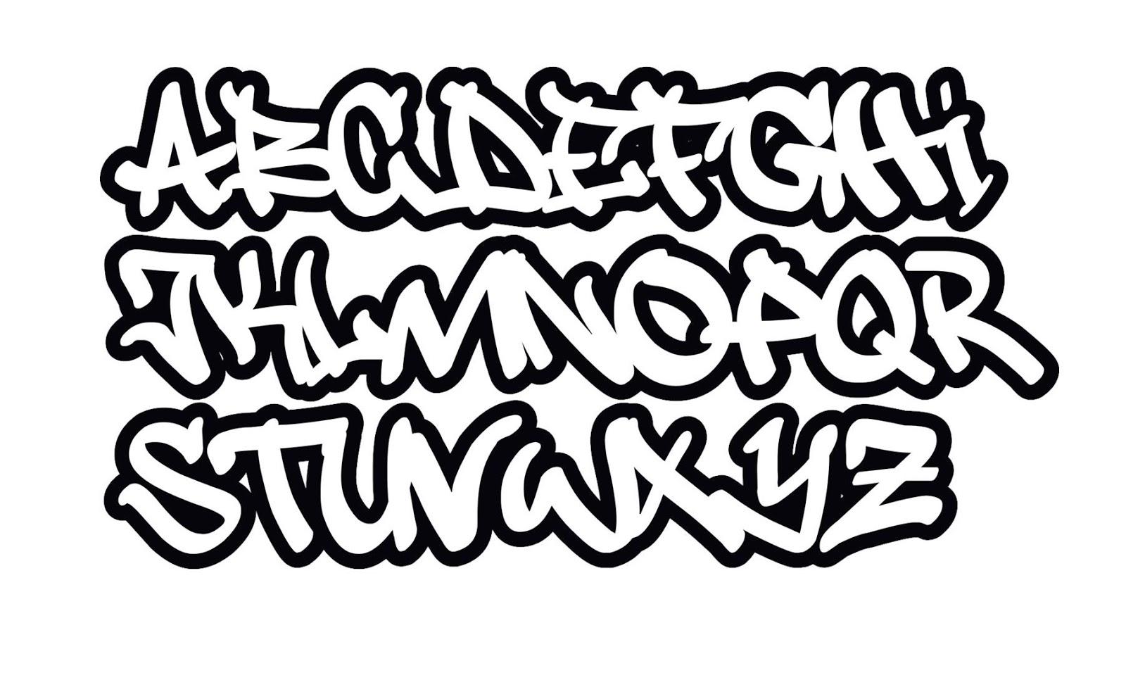Das Beste Graffiti Buchstaben Abc Graffiti Schrift Alphabet