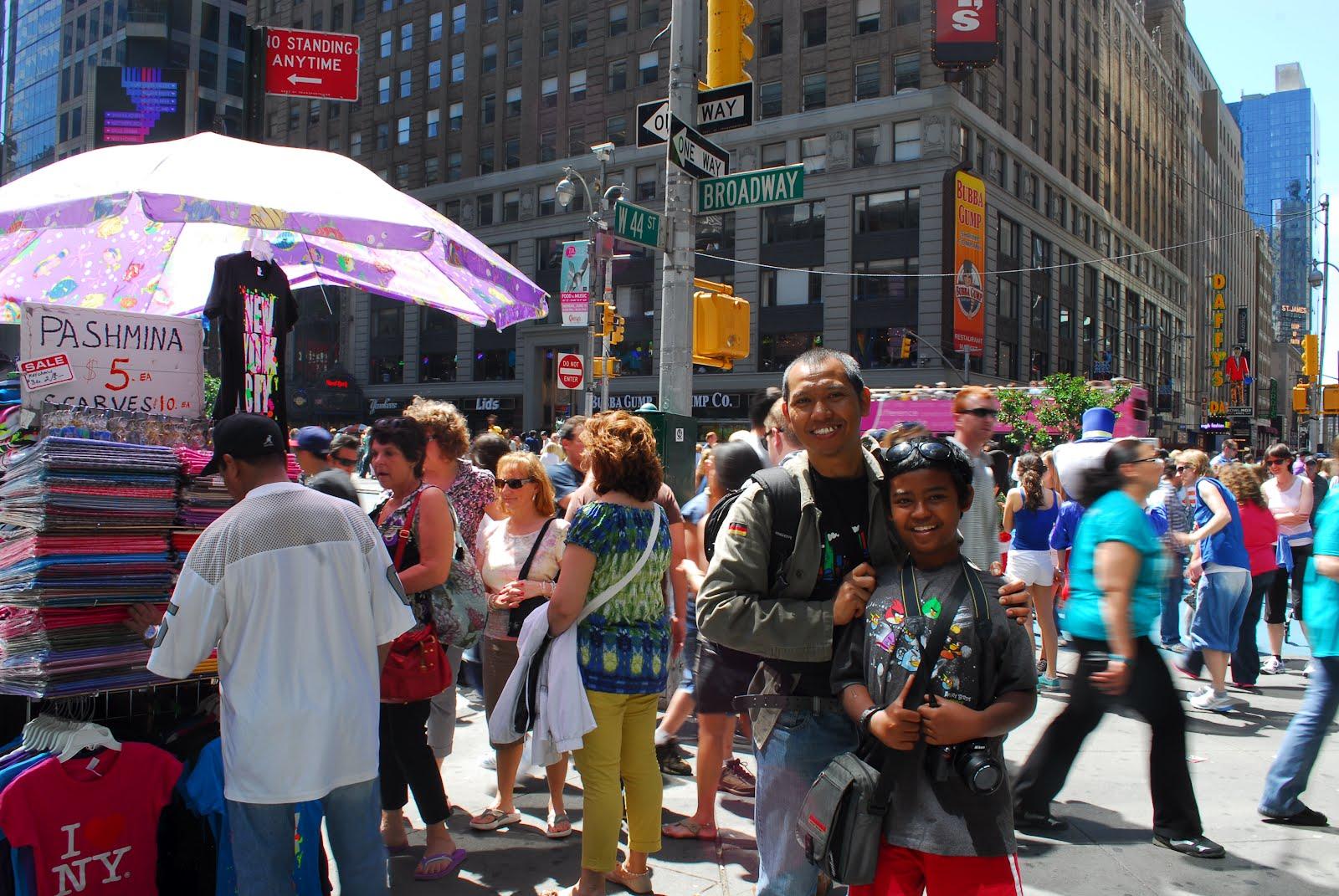 teta jogja and bloomington new york times square  broadway