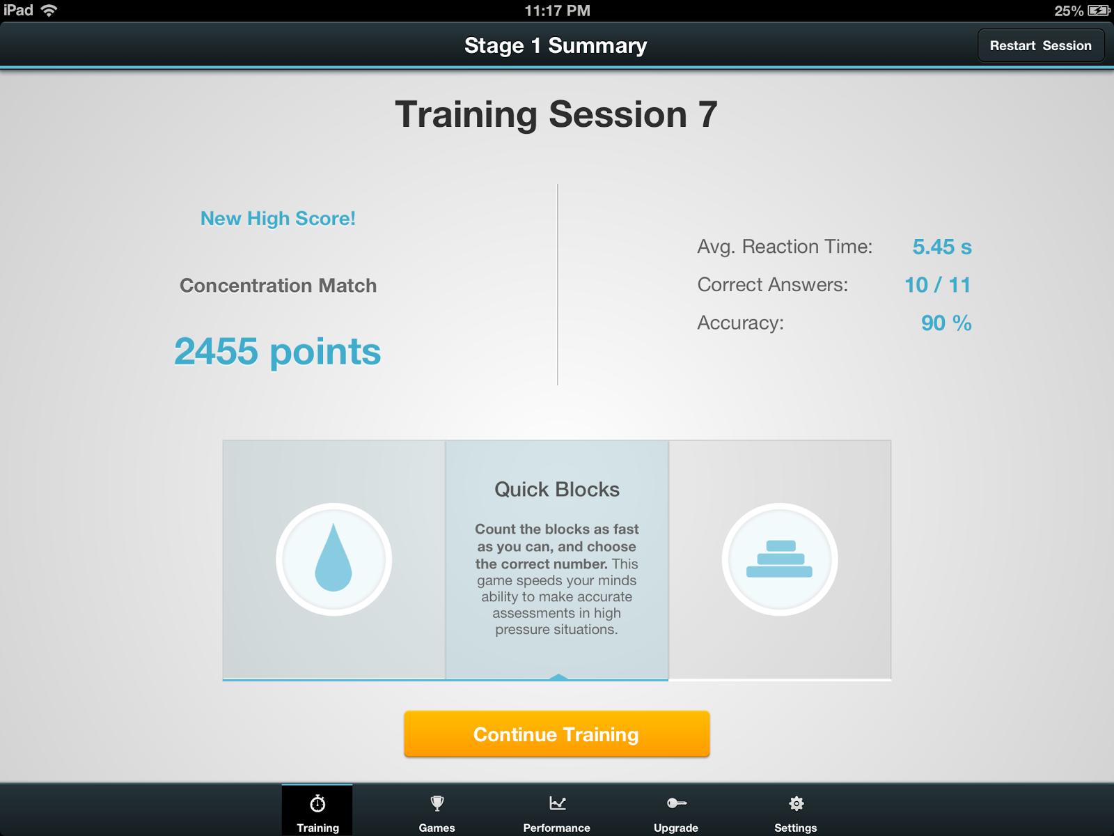Tek Ninja Exercise Your Visual Processing Skills