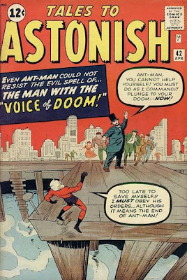 Tales to Astonish #42, Ant-Man and the voice of doom