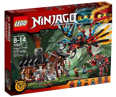 JUGUETES - LEGO Ninjago  70627 La Forja del Dragón  Piezas: 1137 | Edad: 8-14 años  Comprar en Amazon España