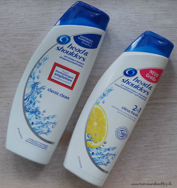 "head & shoulders ""2in1 Citrus Fresh"" & ""Classic Clean"""