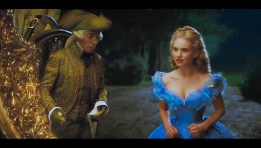 Lily James Cinderella Waist - Daftar Lagu OST / Soundtrack Film Movie Terbaru Cinderella 2015