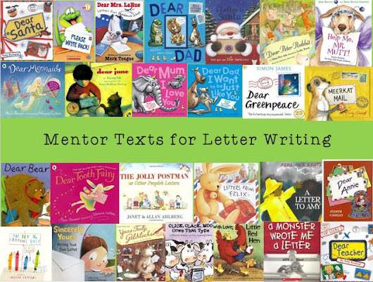 Mentor texts for letter writing