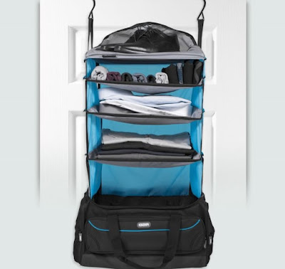 Luggage With Shelves Inside