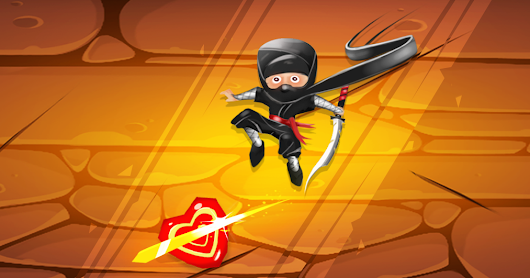 Ninja Candy Slicer Free Game - Get combo bonus for slicing multiple candies in single swipe