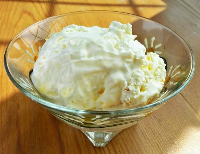 homemade creamy pineapple dessert