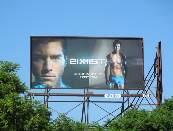 2Xist Electric underwear billboard