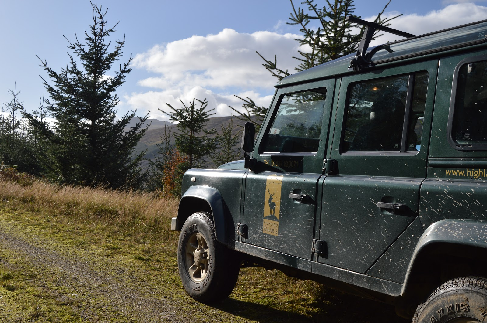 Scotland land rover tours