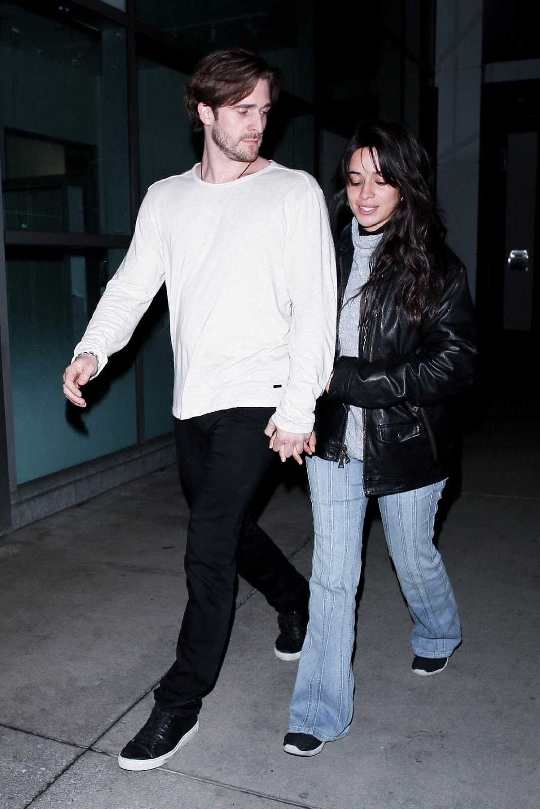 Camila Cabello - and Matthew Hussey were catching a film at ArcLight Theatre in Hollywood, CA January 31, 2019