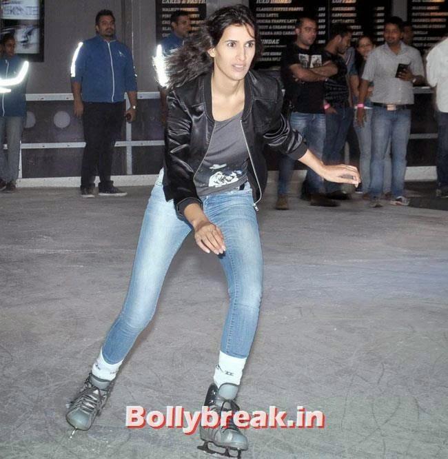 Pragya Yadav, Pragya Yadav skate at Hawaa Hawaai Promotion