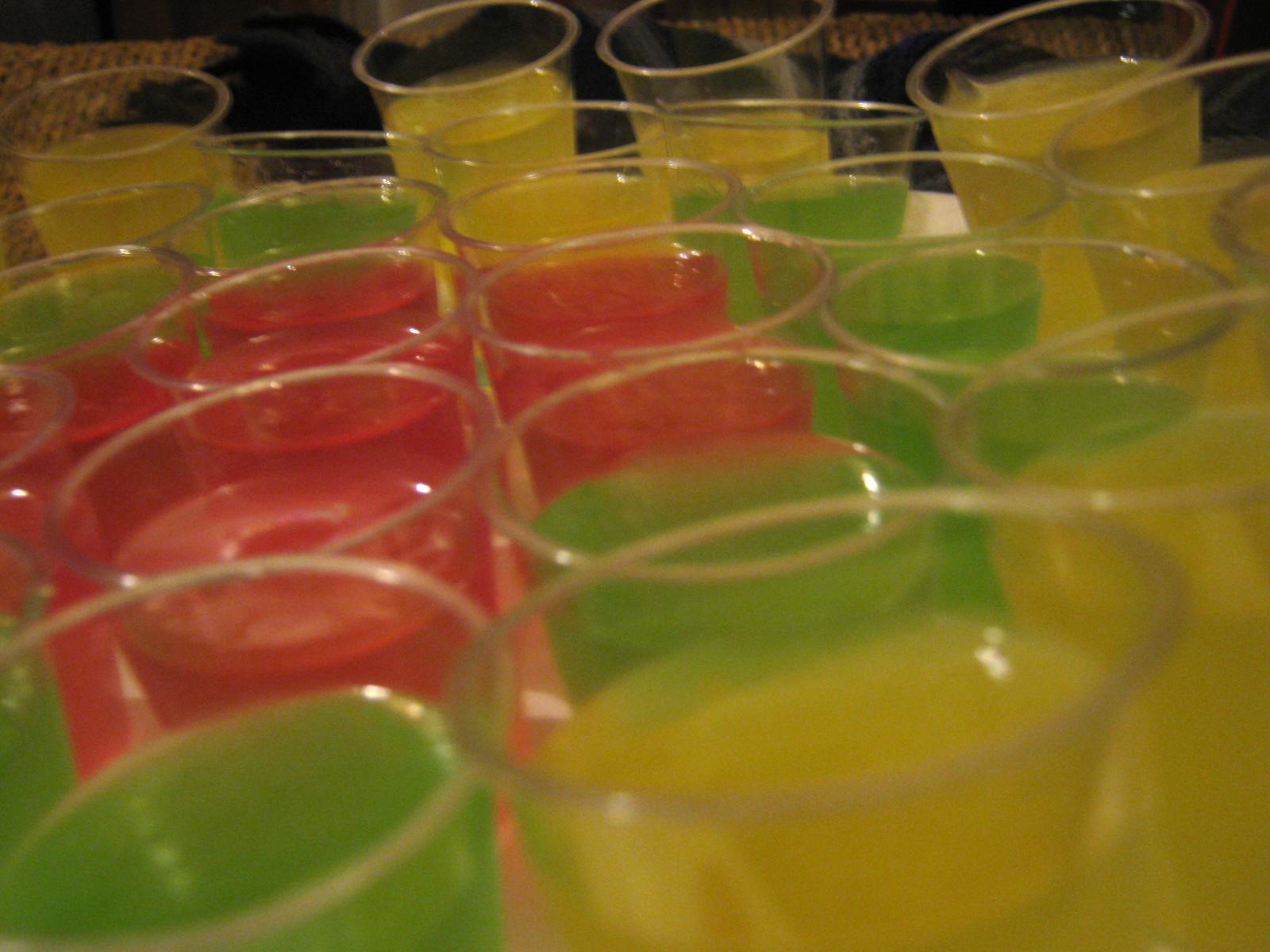 Vodka Jelly Cake Recipe: Vegan Student: A Piece Of Cake: Vegan Vodka Jelly Shots