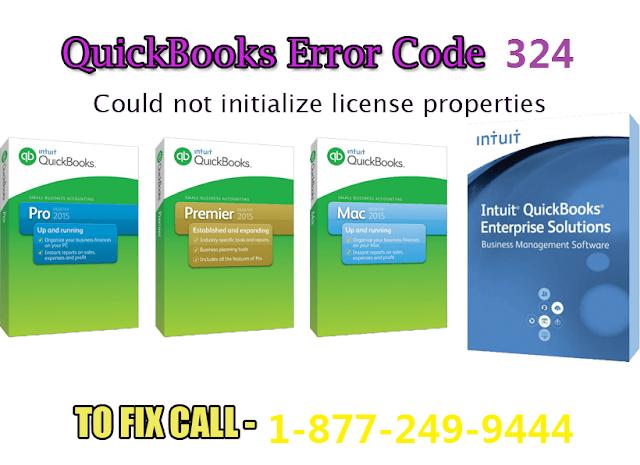 Quickbooks Error Code 324