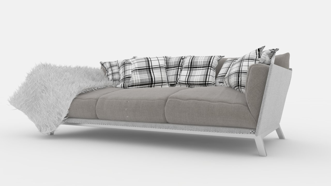 6  Sofa Free Sketchup Model