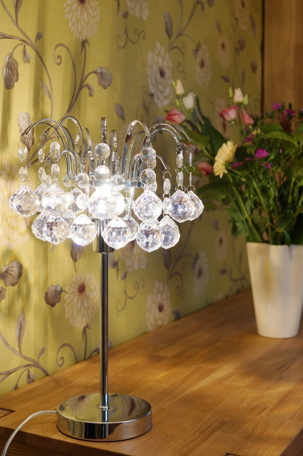 Hello Freckles Homeware Updates Dalton Park Pagazzi Lighting Chandelier Interiors Glass Table Lamp