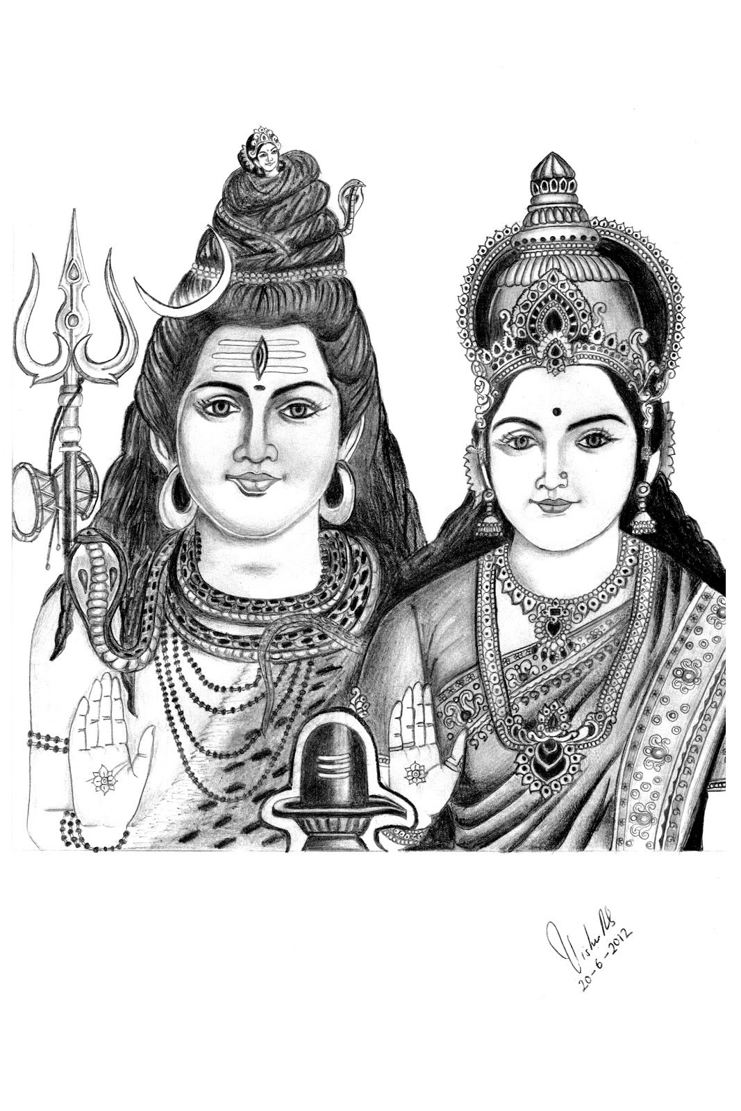 Shiva parvathi