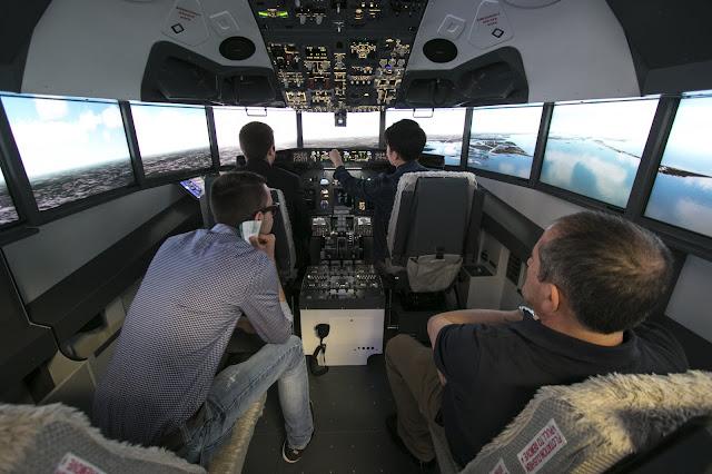 Simulatore di volo Alitalia-Expo 2015-Milano
