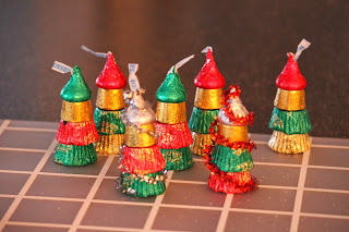 Crafty Fun Stuff: Last minute Christmas trees with ...