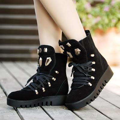 contoh sepatu korea yang cocok dengan kaki anda