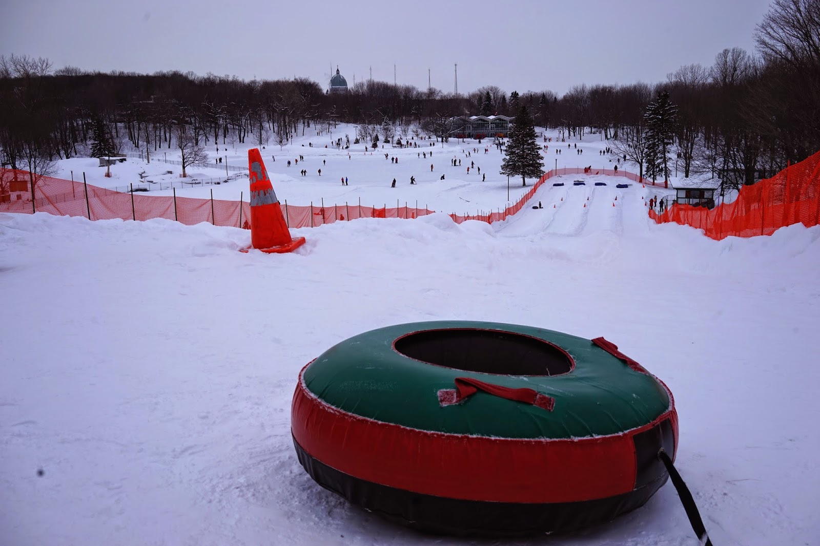 tubing in montreal