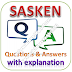SASKEN Written Test: Technical Aptitude; Questions and Answers with Explanations PDFs