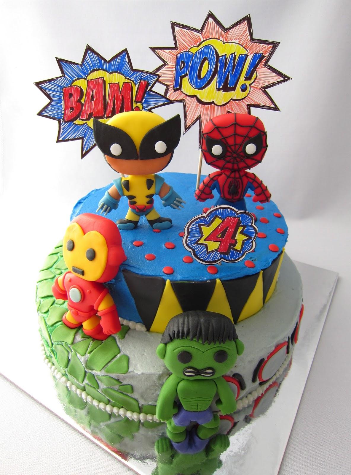 Hope's Sweet Cakes: Super Hero Cakes  |Superhero Cakes