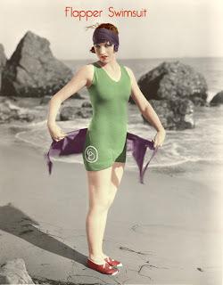Vintage swimwear - be a retro bathing beauty