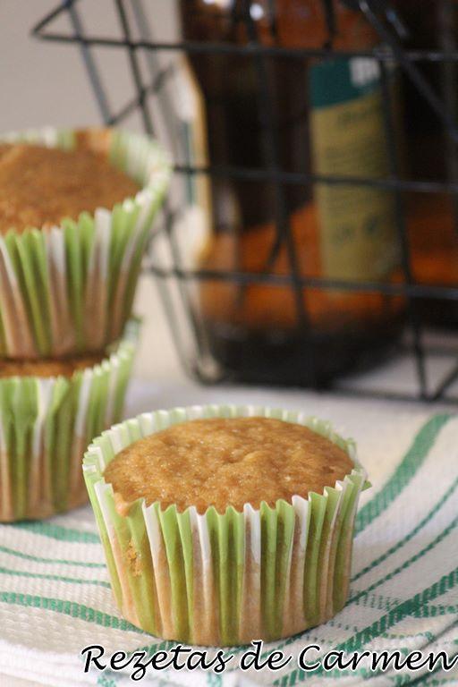 Muffins con cerveza