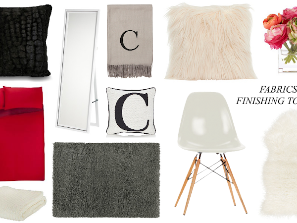 Wishlist | Fabrics & Finishing Touches