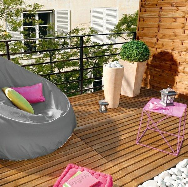 balkon ideen balkongestaltung. Black Bedroom Furniture Sets. Home Design Ideas