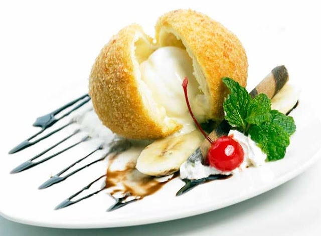 Cara Membuat Es Krim Goreng, Resep Es Krim Goreng