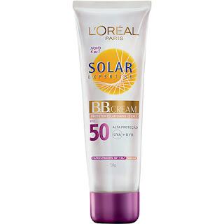 BB Cream L'Oréal Paris Solar Expertise Protetor Solar Diário 5 em 1 FPS 50 50g