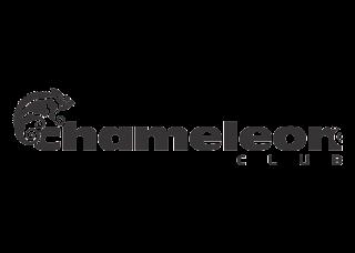 Chameleon Club Logo Vector