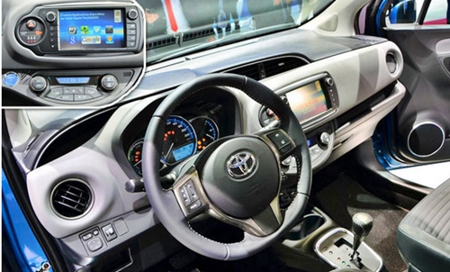 Yaris Hybrid New Best Interior 2016