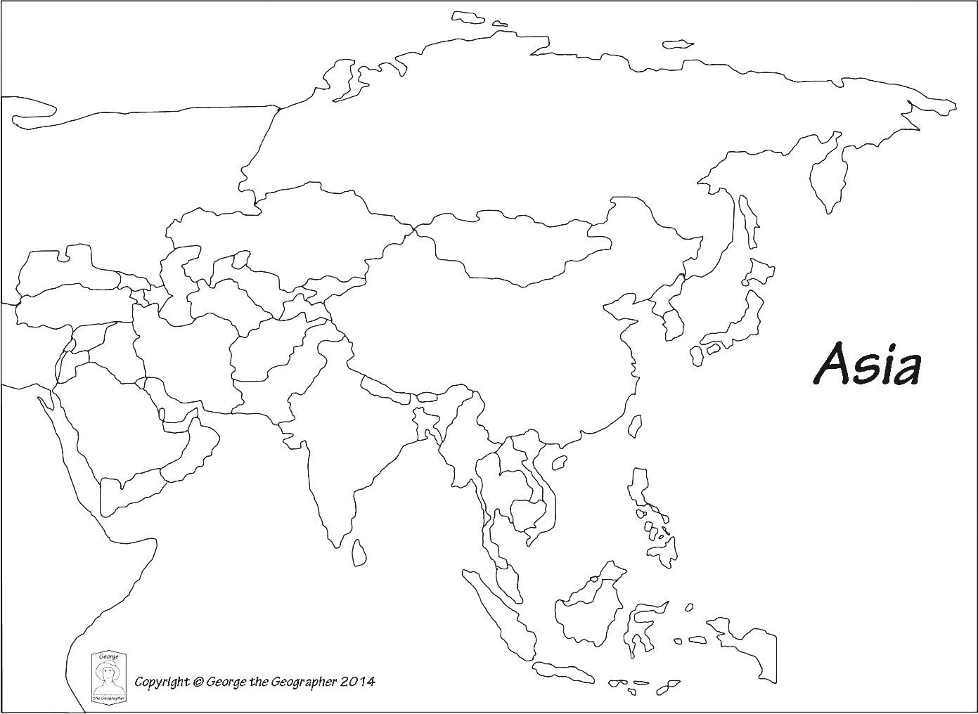 NIS 4th Grade Blog: All Asia Map Test