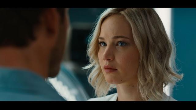 Jennifer Lawrence (Aurora) dans Passengers