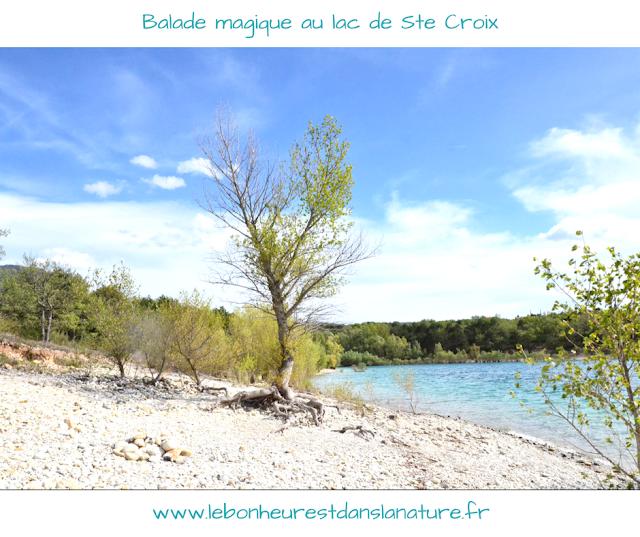 Balade magique lac de Sainte Croix vidéo YouTube