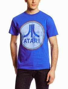 Royal Blue Atari Circle Logo T-shirt