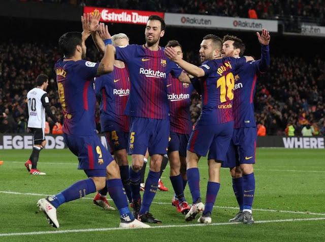 Copa del Rey: Gol Tunggal Suarez Menangkan Barca