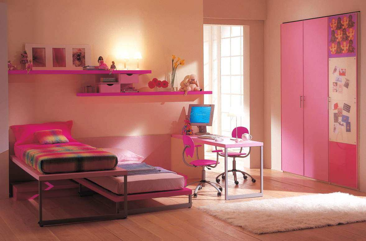 Twin Bed Bedroom Decorating Ideas Passion For Pink Pink Rooms