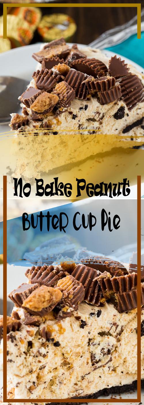 No Bake Peanut Butter Cup Pie Recipe