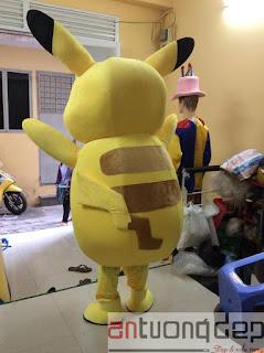 thuê mascot pokemon