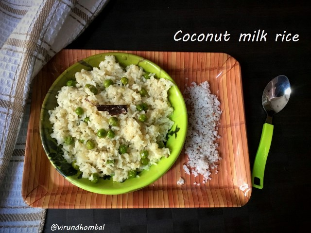Coconut Milk Rice | Thengaipal Sadham | How to prepare Coconut Milk Rice | Thengaipal Sadham with step by step instructions | Lunch box recipes